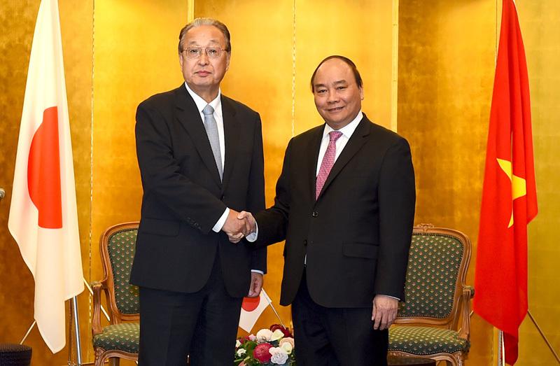 Thủ tướng: 'Thiên thời, địa lợi, nhân hoà' cho DN Nhật vào Việt Nam