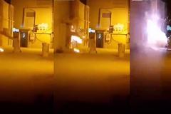 Dùng nước chữa cháy chập điện, người đàn ông kinh hãi cảnh tượng sau đó