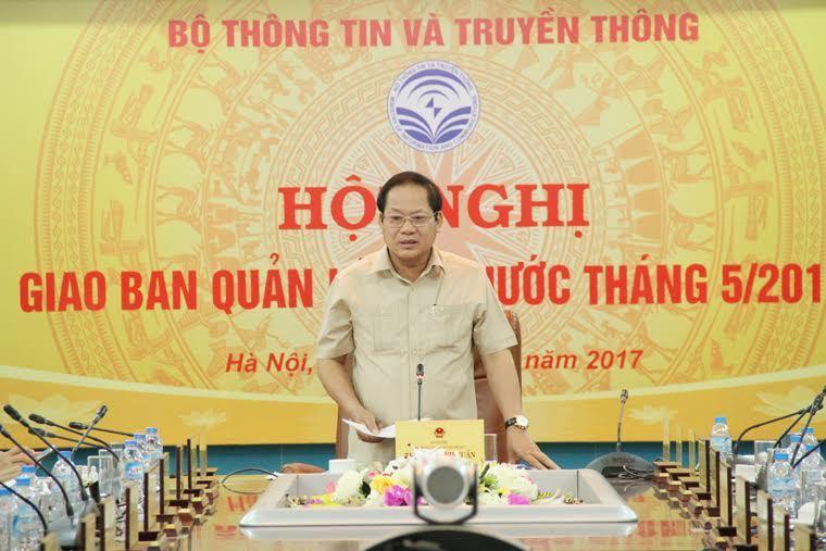 Bộ trưởng TT&TT,Trương Minh Tuấn,báo chí,trang thông tin điện tử