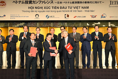 Thủ tướng chứng kiến dòng vốn 22 tỷ USD hợp tác đầu tư Việt-Nhật