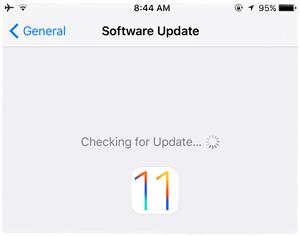 Update len iOS 11