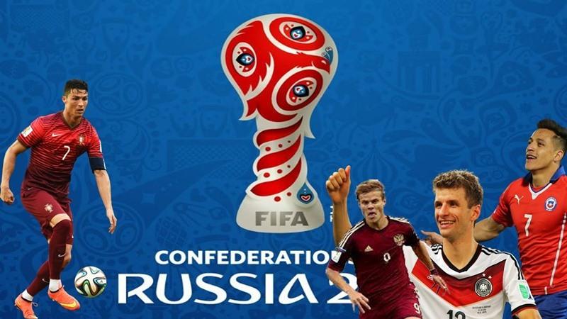 Lịch thi đấu, kết quả, BXH Confederations Cup 2017
