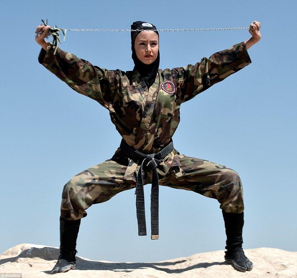 võ thuật, ninja, Iran