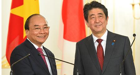 Thủ tướng Nguyễn Xuân Phúc, Nguyễn Xuân Phúc, Nhật Bản
