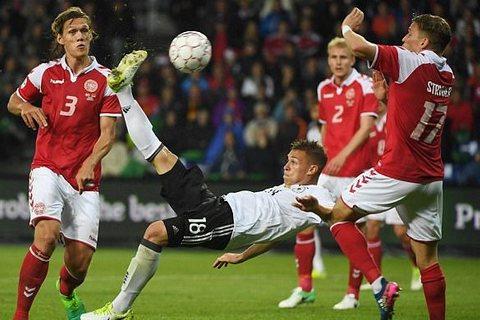 Video bàn thắng Đan Mạch 1-1 Đức