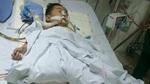 Cha mẹ nghèo bất lực chứng kiến con bị cưa chân sau tai nạn
