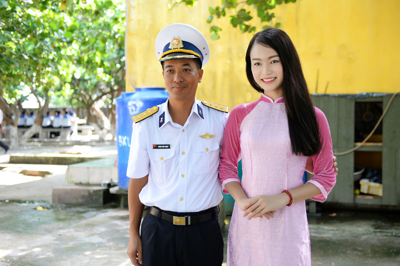Chuyến đi Trường Sa đáng nhớ của Phùng Bảo Ngọc Vân