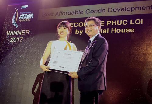 EcoHome Phúc Lợi nhận giải căn hộ giá tốt nhất HN