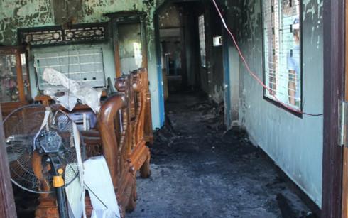 Vụ cháy nhà 3 người chết oan nghiệt, chồng giết vợ và con riêng