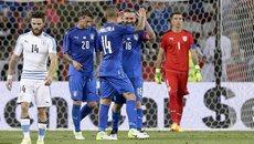 Vắng Suarez, Uruguay thua tan nát trước Italia