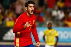 Morata giúp Tây Ban Nha khỏi bẽ mặt trước Colombia