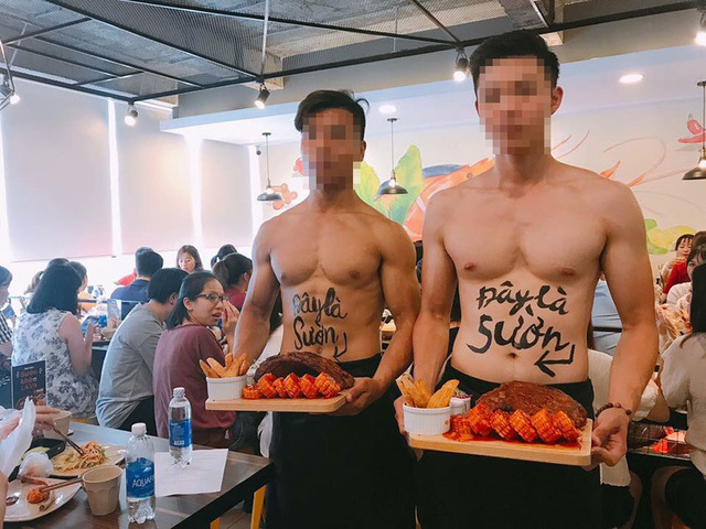Trai đẹp cơ bắp, cởi trần khoe thân bán sườn ở Hà Nội