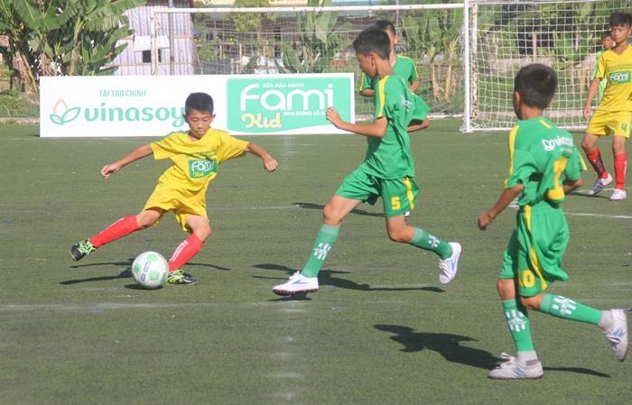 Kết thúc vòng loại bảng II Giải bóng đá Nhi đồng toàn quốc 2017