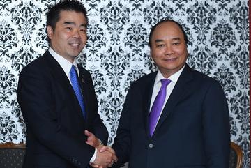 Thủ tướng tiếp lãnh đạo vùng Kansai, Nhật Bản