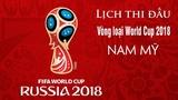 Lịch thi đấu, BXH vòng loại World Cup 2018 khu vực Nam Mỹ