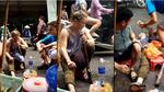 Video cô gái Tây say thuốc lào ngã ngửa trên phố sốt xình xịch