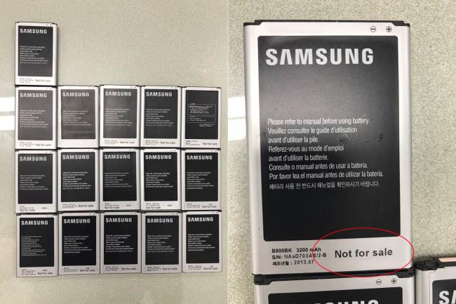 Phát hiện vụ trộm 9.000 smartphone Samsung tuồn sang Việt Nam