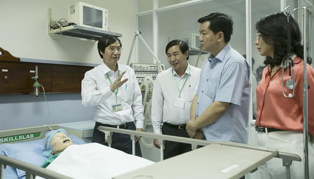uyển sinh đại học, tuyển sinh 2017, Trường ĐH Y khoa Phạm Ngọc Thạch