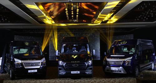VCAR - xe Limousine của Việt Nam xuất khẩu sang ASEAN