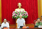 Lực lượng CAND tiếp tục làm tốt chức năng tham mưu cho Đảng, Nhà nước