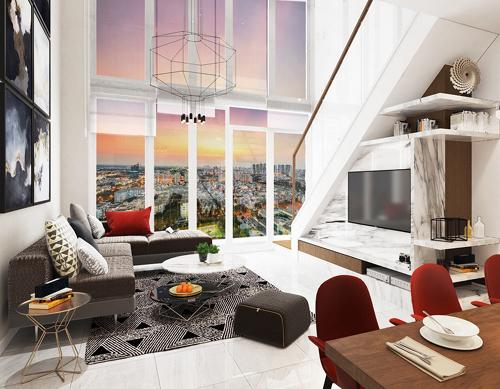 Mở bán căn hộ thông tầng độc đáo The View Riviera Point