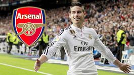 """Arsenal """"cướp"""" James trước mũi MU, Rooney tự bịt đường lui"""