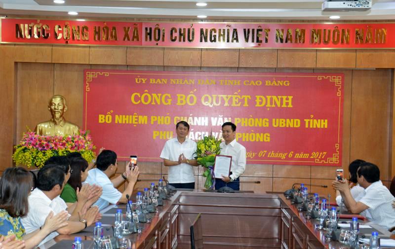 Bổ nhiệm nhân sự 3 tỉnh Đắk Nông, Cao Bằng, Hà Giang