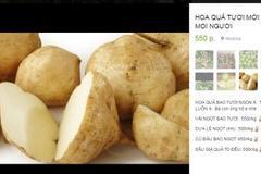 Khế ngọt Việt Nam 50 nghìn đồng/quả, củ đậu đắt 10 lần