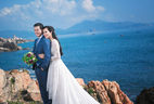 Ảnh cưới lãng mạn của người đẹp Sang Lê và chồng đại gia