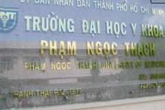 ĐH Y khoa Phạm Ngọc Thạch làm công văn khẩn xin chỉ đạo của UBND TP.HCM