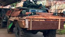 Vì sao Philippines bọc gỗ, bìa giấy cho xe tăng đánh IS?