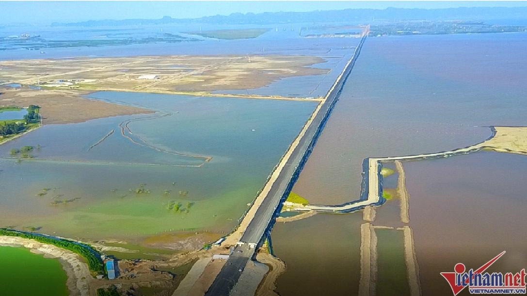 cầu Tân Vũ - Lạch Huyện, cầu vượt biển, cầu vượt biển dài nhất Việt Nam, Hải Phòng