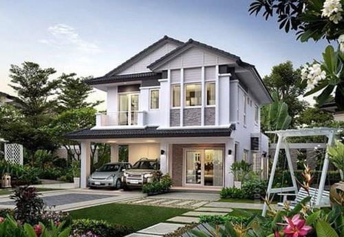 biệt thự, thiết kế nhà, Thái Lan