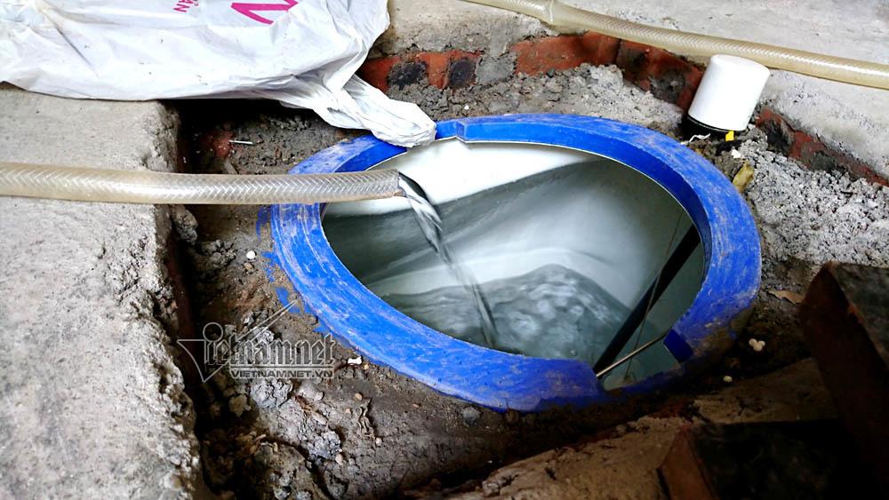 Mòn mỏi đợi từng giọt nước sạch giữa Hà thành