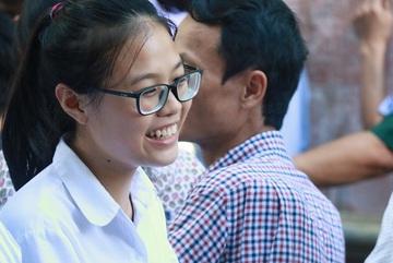 Thí sinh hy vọng mức điểm cao với đề toán vào lớp 10 Hà Nội