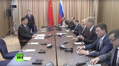 Ông Putin bật cười gọi ông Tập là 'chiến binh đơn độc'