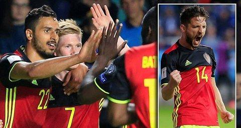 Video bàn thắng Estonia 0-2 Bỉ