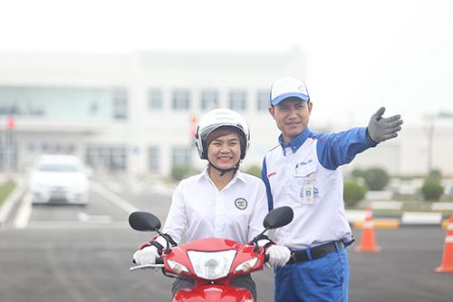 Honda Việt Nam nỗ lực vì xã hội giao thông an toàn