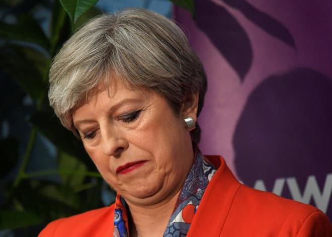 Đảng Bảo thủ, Anh, Theresa May