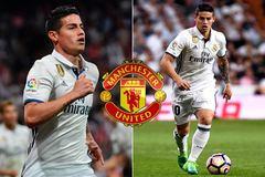 Mourinho lấy hàng thải PSG, James khẩn thiết gọi MU