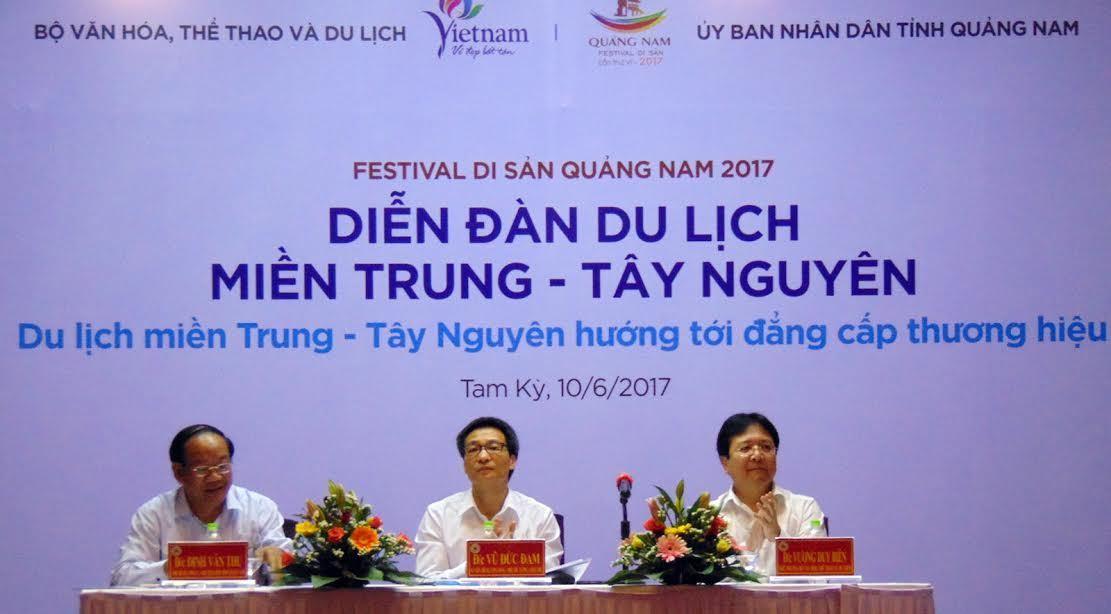 Liên kết để xây dựng thương hiệu du lịch khu vực miền Trung - Tây Nguyên
