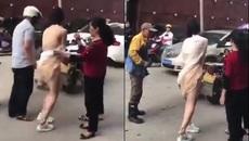 10 clip 'nóng': Thiếu nữ bị xé áo giữa phố vì tai nạn bất ngờ