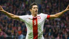 Lewandowski lập hat-trick đưa Ba Lan đến gần World Cup 2018