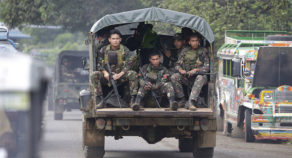 Đặc nhiệm Mỹ 'tham chiến' ở Philippines