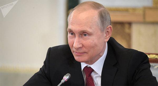 Tổng thống Putin 'lên chức'