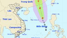 Bão số 1 giật cấp 10 trên biển Đông