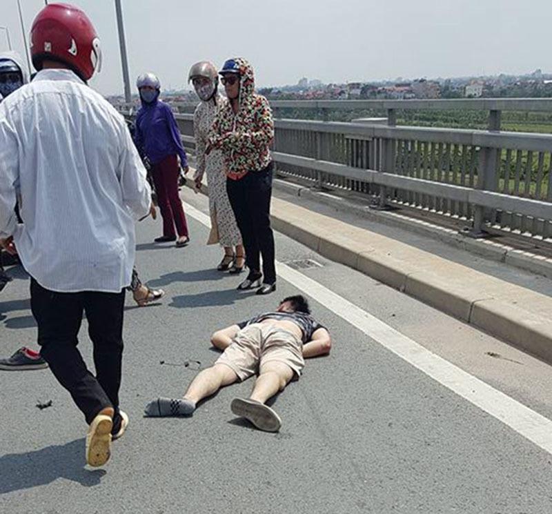 tai nạn, tai nạn giao thông, cầu Nhật Tân