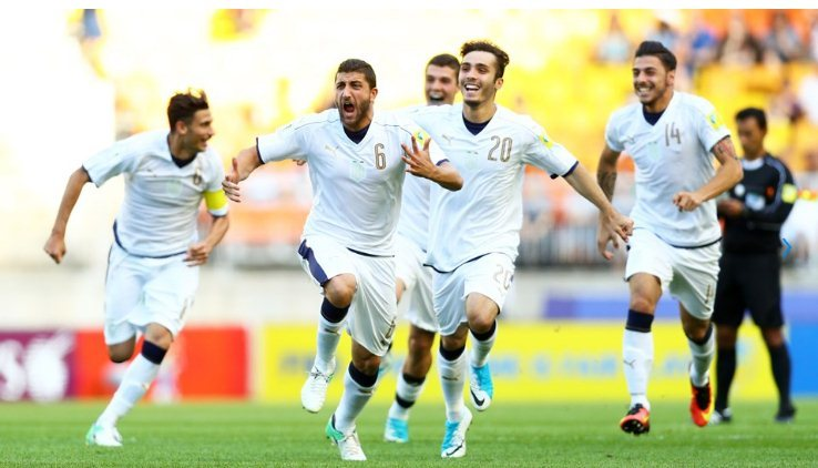 U20 Uruguay, U20 Italia, U20 World Cup 2017, U20 Thế giới