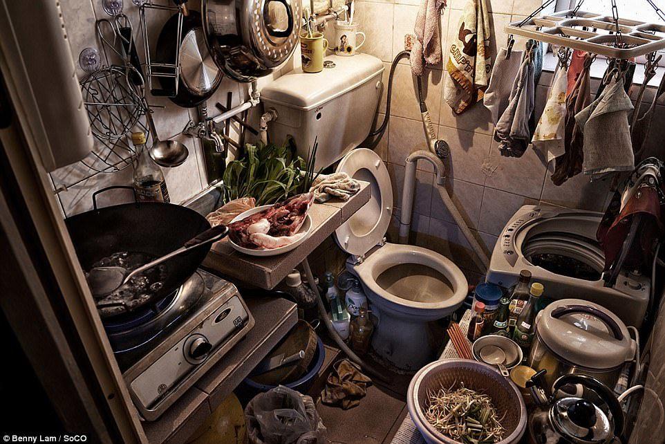 Bên trong những ngôi nhà chưa đầy 5 mét vuông ở Hồng Kông