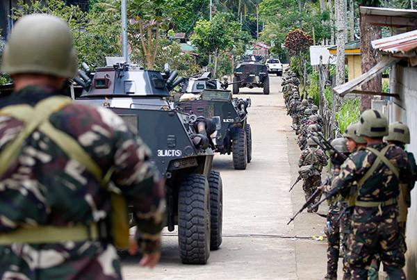 Philippines, chiến sự Marawi, Nhà nước Hồi giáo, phiến quân IS